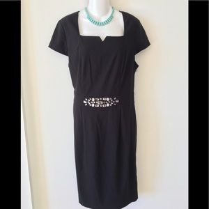NWT Style & Co Evening Cocktail Formal Dress Black